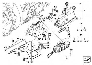 Torxschraube selbstschneidend M6X20           3er  (23427507050)