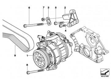 Klimakompressor  5er 6er  (64509174805)