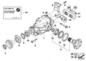 Austausch Hinterachsgetriebe I=2,56          3er  (33107556669)
