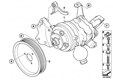 Lenkhilfepumpe LFR-440     LUK 5er 6er  (32416781266)