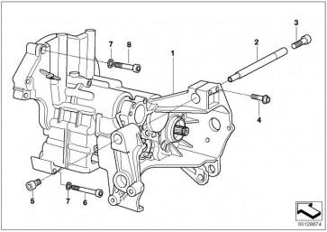6 Gang Getriebe/Hochverzahnung 6. lang SCHWARZ         R21 R22 R28  (23007677009)