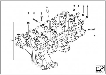 Zylinderkopf  1er 3er 5er X3  (11127806058)