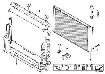 Kühlmittelkühler  5er  (17117795879)