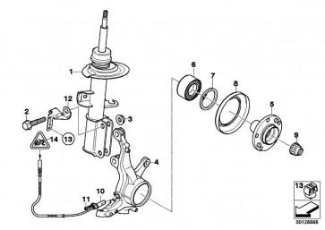 Halter Impulsgeber ABS rechts  X5  (34521165770)