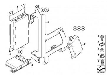 Ladefreisprechelektronik High BASIS SVS 1er 3er 5er 6er 7er X1 X5 X6 Z4 MINI  (84109229740)