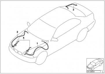 Rep.-Kabelsatz hinten rechts  3er  (61126930613)