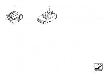 Stiftkontakt ELO-Power 2,8 x 0,63 0,35-0,5MM² 1er 3er 5er 6er 7er X1 X3 X5 X6 Z3 Z4 Z8 MINI  (61138373293)