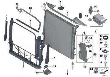 Kühlmittelschlauch  X5  (17127521768)