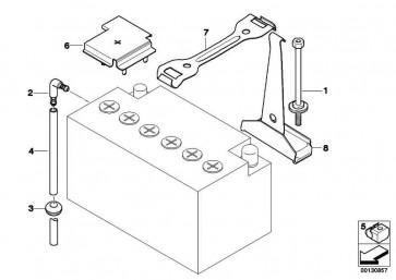 abdeckung batterie pluspol x3 z4 61216901269. Black Bedroom Furniture Sets. Home Design Ideas