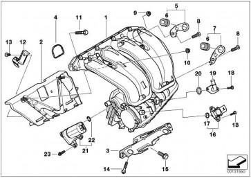Schraube K50X14          3er Z4 X3 1er 5er X6 7er X5 X1 6er  (11617533330)