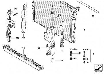 Kühlmittelkühler  X3  (17113400013)