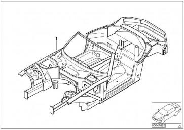 Karosserie-Gerippe BASIS           Z8  (41007006829)