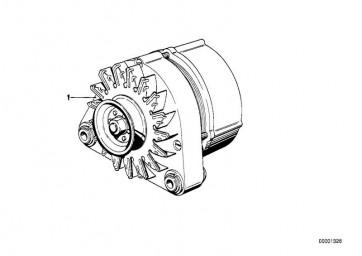Austausch Generator 90A (12311711375)