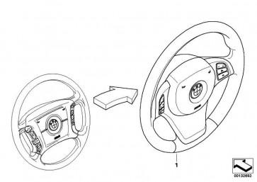 Airbagmodul Fahrerseite  X5  (32306780661)