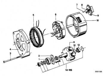 Reparatursatz Läufer   3er 5er 6er 7er  (12311350332)