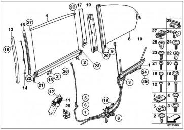 Torxschraube für Kunststoff TS6X17MM 3er 5er 7er  (07149154112)