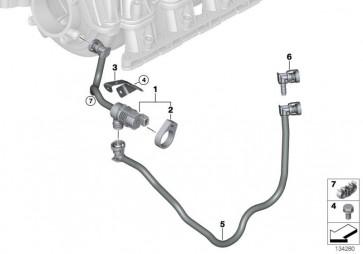 Tankentlüftungsventil mit Leitung (13907530264)