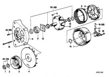 Zylinderschraube  3er 5er 6er 7er Z1  (12311727760)