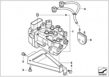 Druckmodulator Vollintegral ABS  R22  (34517685787)