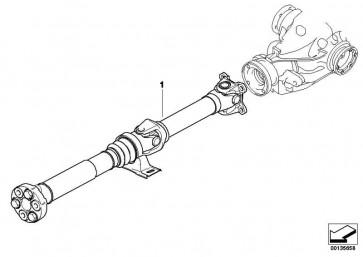 Gelenkwelle Schaltgetriebe L=1539MM        3er  (26107551207)