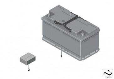 Starterbatterie S5A (BSH-0 092 S5A 150)