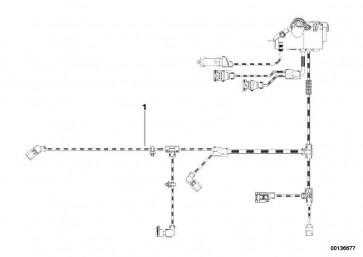 Kabelbaum Motor Motormodul  3er  (12517555996)