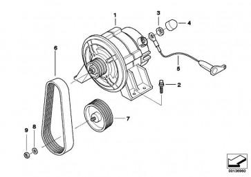 Generator 40A DENSO  (12312306280)