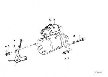 Zylinderschraube mit Scheibe M10X70           K30 259 259R 259C R21 R22 R28  (11121342244)