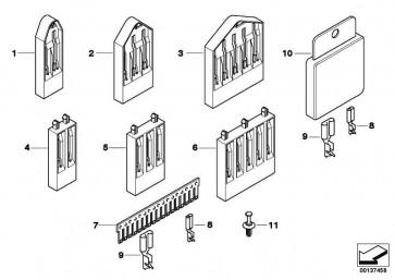 Reparatursatz Massekammverbinder 9 POL.          3er 5er 6er 7er X3 X5 X6 Z3 Z4 Z8 MINI  (61130021288)