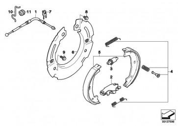 Reparatursatz Federn  1er 3er Z4  (34410410823)