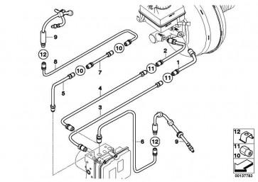 Rohrleitung M10/M12         5er 6er  (34326771618)