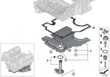 Sechskantschraube mit Scheibe M6X20-ZNNIV SI 1er 2er 3er 4er X5  (07119905750)