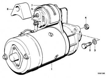 Austausch Anlasser  3er 7er 5er  (12412246571)