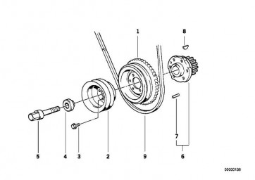 Sechskantschraube M18X1,5X65      3er 5er Z1  (11231709037)