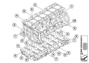 Alu-Heli-Coil-Gewindeeinsatz M10X22          1er 3er 5er 6er 7er X1 X3 X5 Z4  (11117547546)