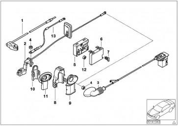 Batteriekabel plus SBK             3er  (61122695530)