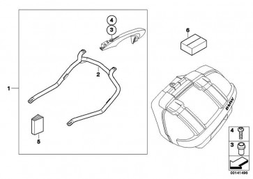 Befestigungsatz Kofferhalter   (71607680841)