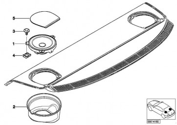 Blechschraube mit Scheibe ST 4,8X19 3er 5er 6er 7er X5 X6 MINI  (07119904263)