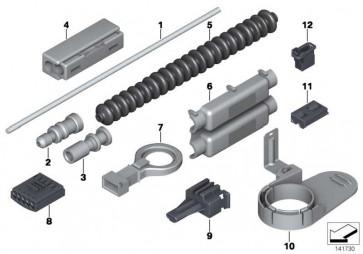 Lichtwellenleiter Steckergehäuse  1er 3er 5er 6er 7er X3 X5 X6 MINI  (61136917978)