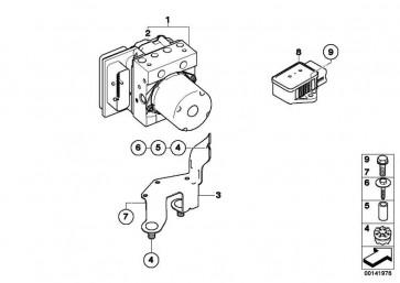 Reparatursatz Steuergerät DSC  5er 6er  (34526769706)