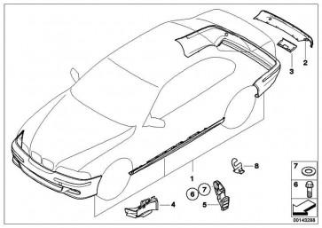 Nachrüstsatz M Aerodynamikpaket GRUNDIERT 3er  (51710302083)