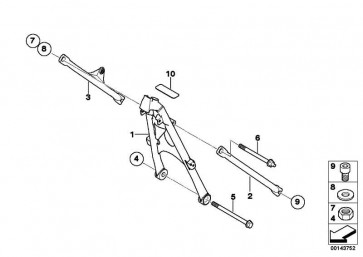Sechskantschraube M12X210  (46517677568)