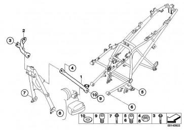 ISA-Schraube M10X40-8.8-MK    (07129904632)