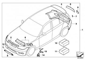 Aerodynamikpaket lackiert CODE UNI/MET 1er  (51190391910)