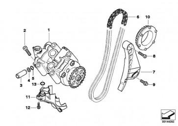 Kette Ölpumpe   K40 K43 K44  (11417678217)