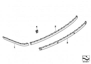 Stossleiste grundiert hinten rechts  7er  (51127142218)