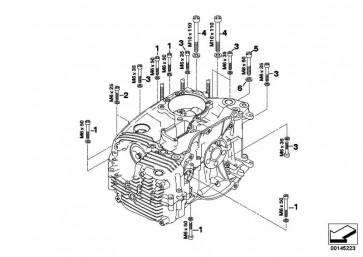 ISA-Schraube M8X60 ZNS3       (07129904502)