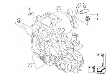 ASA-Schraube M10X80-8.8-ZNS3 5er 3er 7er X1 6er X5 X6 1er 4er 2er  (27107534238)