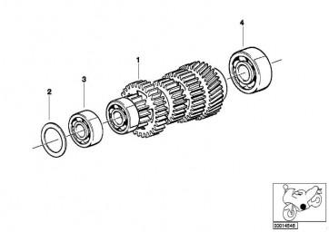 Rillenkugellager Clean Bearing 17X59X20         (23122325522)