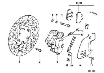 Reparatursatz Bremsbeläge   (34112345445)